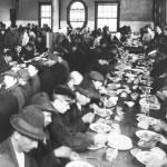 Un repas à Ellis Island, 1913