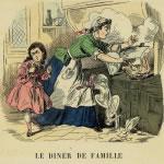 Le dîner de famille, 1878