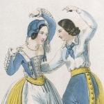 Costumes de théâtre, 1839