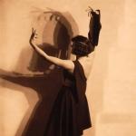 La danseuse estonienne Neggo Gerd, 1928