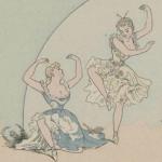Illustration de Léon Lebègue pour Les bals travestis et les tableaux vivants sous le second Empire, 1893