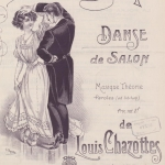 Louis Chazottes, La Polkinette, danse de salon, 1910