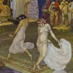 Michel Simonidy, Illustration pour Histoire de Minoutchehr, 1919
