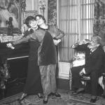Deux femmes dansant le tango sous les yeux de Jean Richepin, 1913
