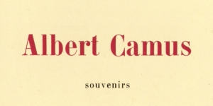 Jean Grenier, Albert Camus, 1968