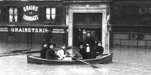 Inondations à Paris en janvier 1910
