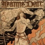 Eugène Grasset, Sarah Bernhardt en Jeanne d'Arc, 1894