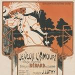 Je veux l'amour : valse pour piano, 1908
