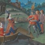 Le Livre du coeur d'amour épris, manuscrit, 15e siècle
