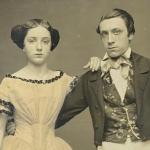Jeune couple, photographie, vers 1845