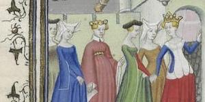 Christine de Pisan, Le Livre de la cité des Dames, manuscrit enluminé, début du 15e siècle