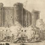 Louis Bance, Prise de la Bastille, gravure, 1789