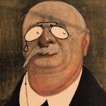 Portrait-charge d'Emile Waldteuffel, 1902