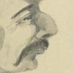 Lhéritier, Portrait de Jules Barbey d'Aurevilly