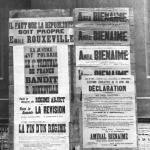 Affiches électorales, 1914