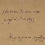 Les manuscrits de Casanova dans Gallica