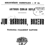 Arthur Conan Doyle, Jim Harrison Boxeur, 1910