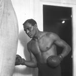 Le boxeur Joe Jeannette en 1913