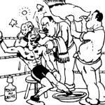 """""""Ces bons managers !"""", La Culture physique, juillet 1936"""