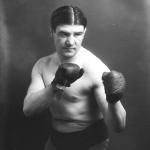 Le boxeur Marthuin en 1912