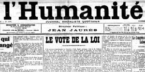 L'Humanité, 1er avril 1910