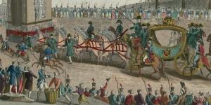 Entrée de Sa Majesté Impériale Marie-Louise dans la ville de Paris, le 2 Avril 1810