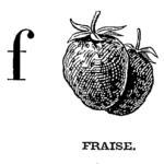 Mlle Brès, Mon premier alphabet, 1934