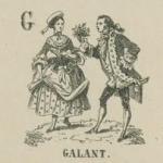 Alphabet, Image d'Epinal de la maison Pellerin, 1859