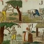 Alphabet du petit villageois, 1818