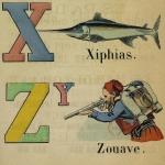 Alphabet français des grandes lettres, 1874