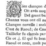 """""""Raoul de Cambrai"""", en cours de correction sur Wikisource"""