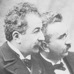 Les frères Lumière en 1895
