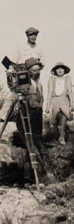 """Sur le tournage du """"Napoléon"""" d'Abel Gance"""