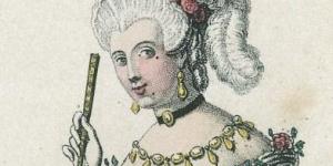 Costume pour le rôle de la chevalière d'Éon, 1837