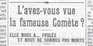Le Petit Parisien, édition du 19 mai 1910