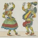 Ballet des polichinelles, Épinal, Pellerin, 1855