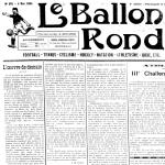 Le Ballon rond, 2 mai 1925