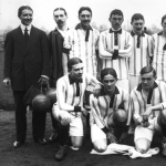 L'équipe de France de football en 1913