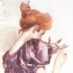 Henri Gervex, illustrations pour La Fille aux yeux d'or de Balzac, 1898