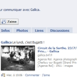 Gallica sur Facebook
