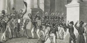 Entrée de Louis-Philippe dans Paris le 29 juillet 1830