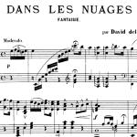 David del Castillo, Dans les nuages : fantaisie pour piano, 1894