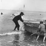 Baigneurs à Trouville, 1913