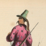 Pannemaker, Costume kirghiz, 1843-1844