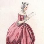 Costume de théâtre, 1842