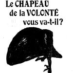 G.-A. Mann, Le Chapeau de la volonté vous va-t-il ?, 1913