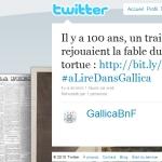 Gallica sur Twitter