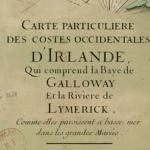 Claude-Auguste Berey, Carte d'Irlande, 1693