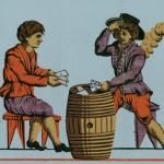 Affiche publicitaire, 1800