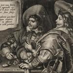 Cornelis de Vos, Trois hommes et une femme jouant aux cartes